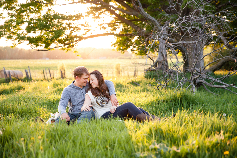 A Farm Engagement Session in Finch, Ottawa, ON