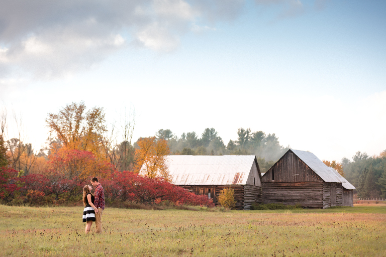 A Rustic Farm Engagement Session in Eganville, Ottawa