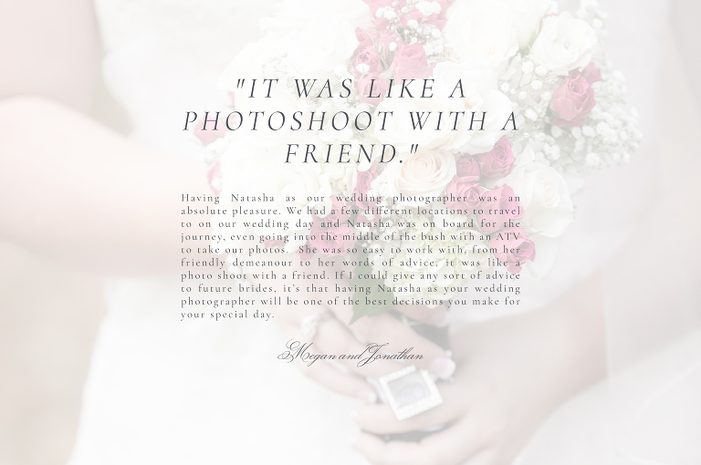 Wedding Client Review for Natasha Rombough Photography - Maxville Wedding