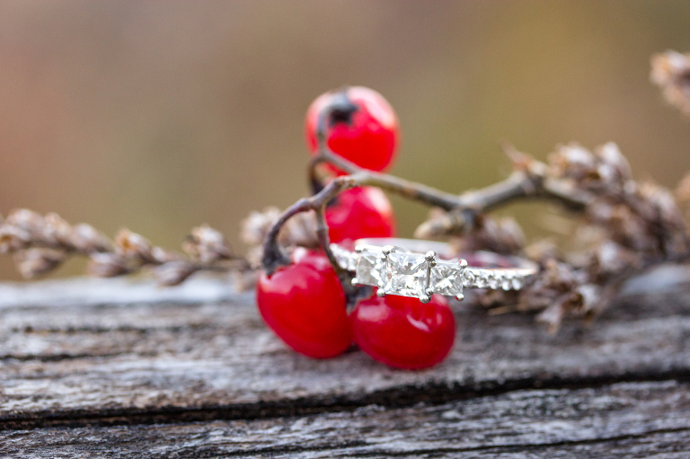 engagement ring fall berries